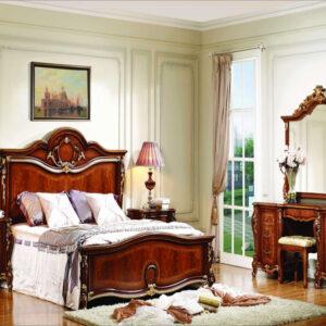 1 Set Kamar Tidur Mewah Gaya Eropa