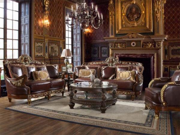 Set Kursi Sofa Tamu Classic Jepara Terbaru 1