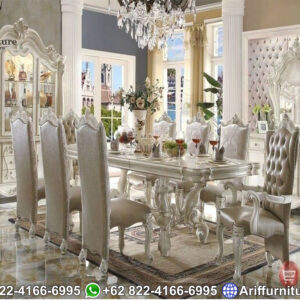 Set Meja Makan Luxury Jepara