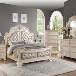Set Tempat Tidur Klasik Duco Mewah