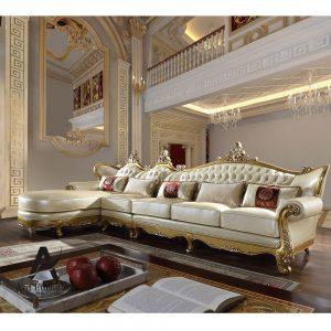 Sofa Sudut Mewah Italia
