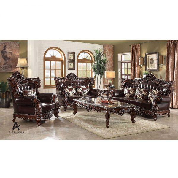 Sofa Tamu Klasik Mewah Jati
