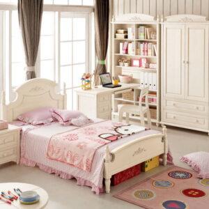 Tempat Tidur Anak Perempuan Modern Terbaru 1