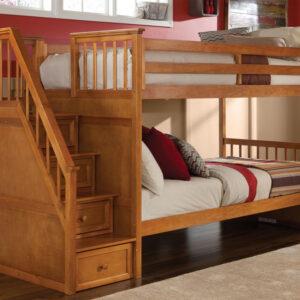 Tempat Tidur Kayu Tingkat Susun Anak