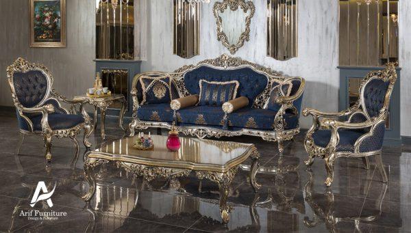 1 Set Sofa Tamu Mewah Ukir Klasik 1