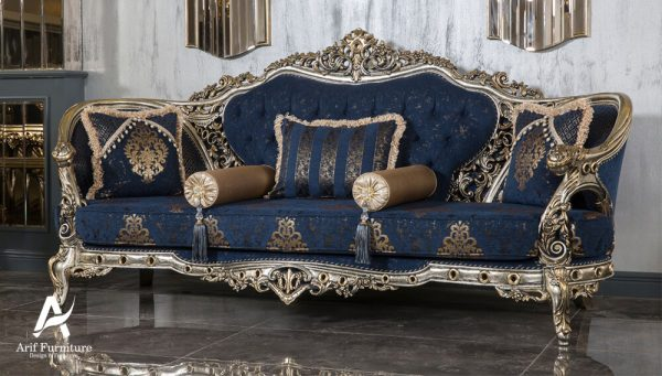 1 Set Sofa Tamu Mewah Ukir Klasik 2