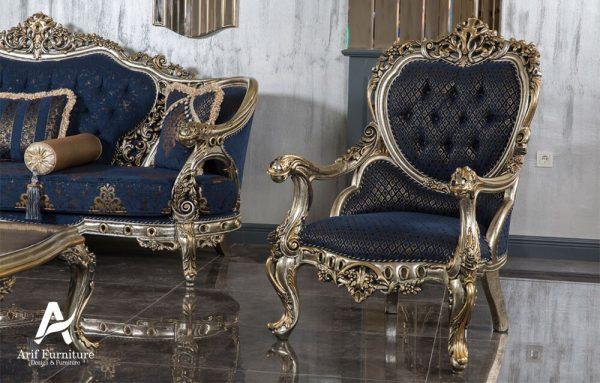 1 Set Sofa Tamu Mewah Ukir Klasik 5
