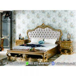 New Tempat Tidur Classic Ukiran Mewah