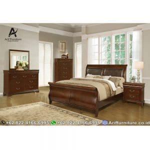 Set Tempat Tidur Classic Jepara Terbaru