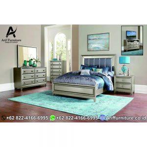 Tempat Tidur Minimalis Brown Metaliq 1 1
