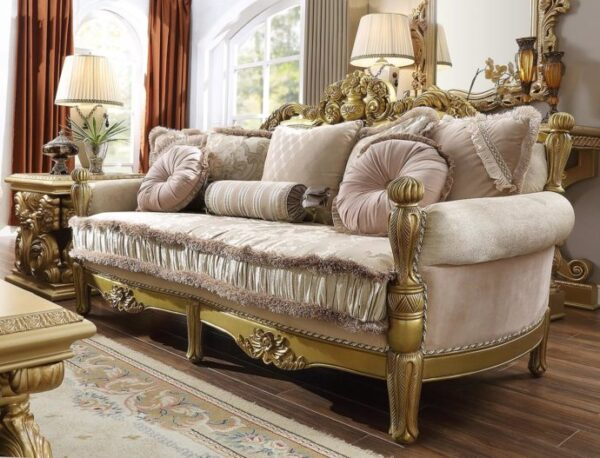 Luxurious Sofa Tamu Mewah Jepara Gold 2