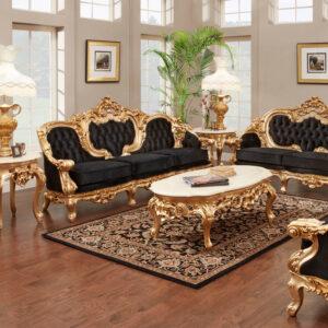 Set Sofa Tamu Jati Jepara Mewah Ukiran Klasik 2