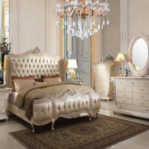 Set Tempat Tidur Jepara Mewah Victorian 1