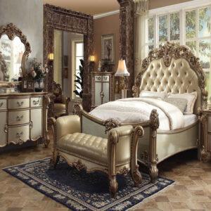 Set Tempat Tidur Ukiran Mewah Jepara