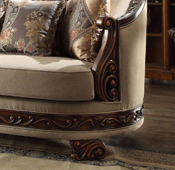 Sofa Tamu Jepara Mewah New Ukiran Klasik 5