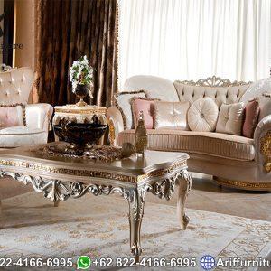 Kursi Sofa Tamu Klasik Helios