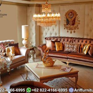 Kursi Sofa Tamu Klasik Victoria