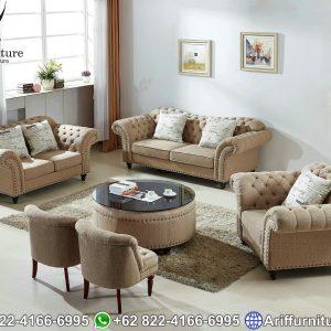 Set Sofa Tamu Jepara Minimalis Mewah