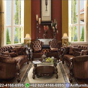 Set Sofa Tamu Mewah Alexa Luxury Style