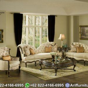 Set Sofa Tamu Mewah Classic New