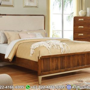 Set Tempat Tidur Jati Jepara Minimalis