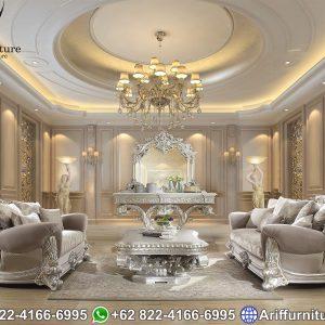 Sofa Tamu Jepara Ukir Mewah Klasik
