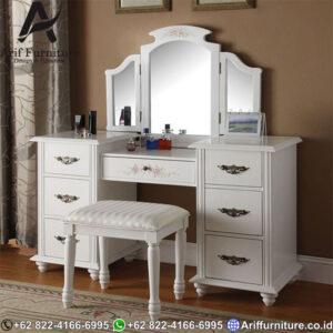 Meja Rias White Vanity