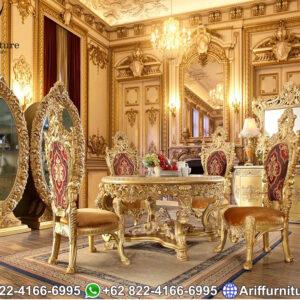 Kursi Meja Makan Mewah Luxury