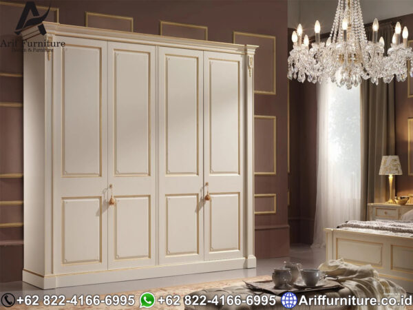 Lemari Pakaian Minimalis 4 Pintu 1