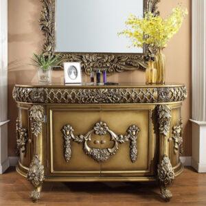 Meja Konsul Rococo Bronze Dresser