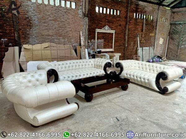 Sofa Tamu Mewah Klasik Jepara 1