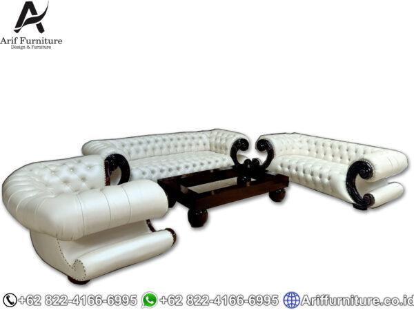 Sofa Tamu Mewah Klasik Jepara