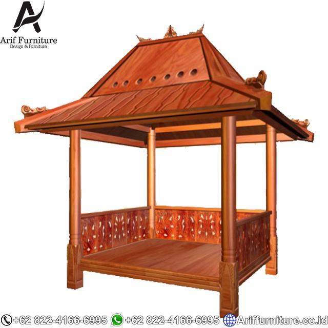 Gazebo Model Jawa Antik Jepara