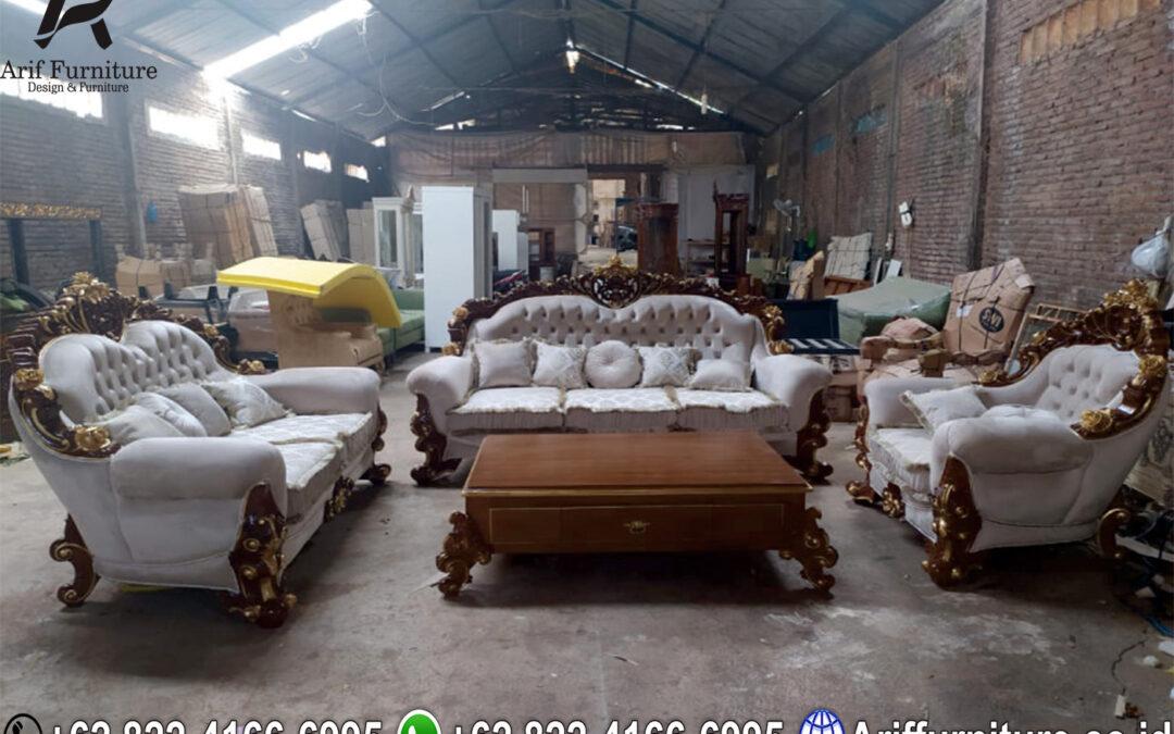 Kenapa Harus Pilih Sofa Tamu Jati Ukir Jepara?