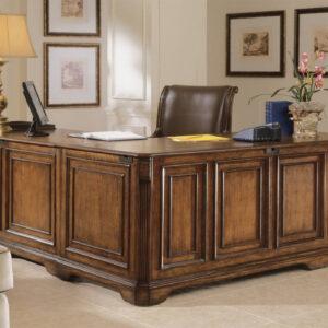 meja kerja kayu jati minimalis