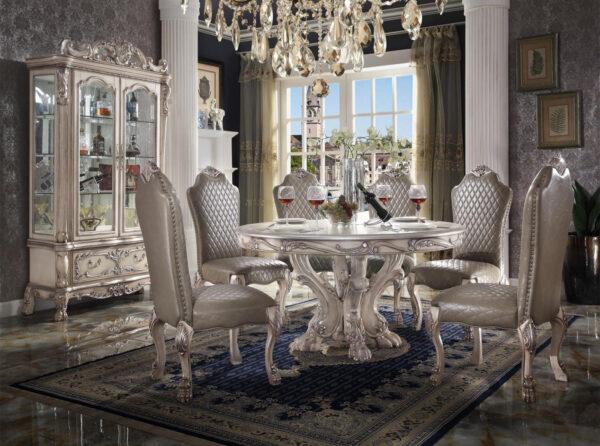 meja makan klasik ukir mewah