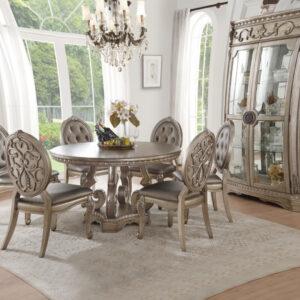 set meja makan klasik mewah
