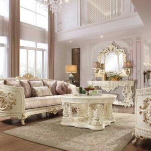 sofa tamu klasik ukir mewah