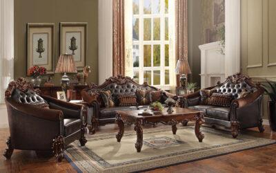 7 Design Sofa Kayu, Kemewahan Simpel Untuk Ruang Keluarga