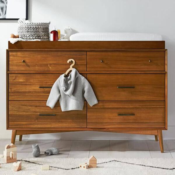baby tafel minimalis kayu jati terbaru 1