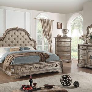 kamar set tidur pengantin mewah