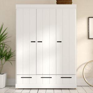 lealmari pakaian 3 pintu minimalis terbaru