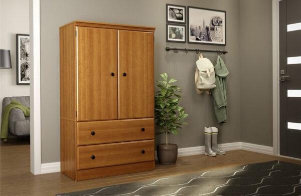 lemari pakaian minimalis mewah terbaru