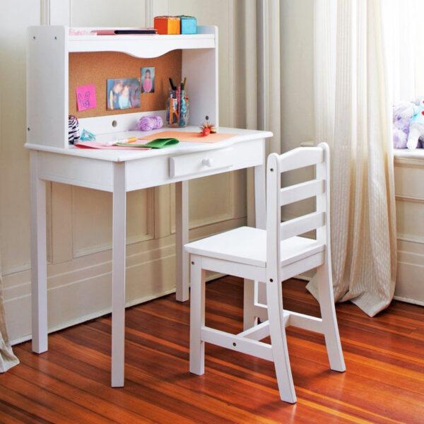 meja belajar anak perempuan minimalis terbaru