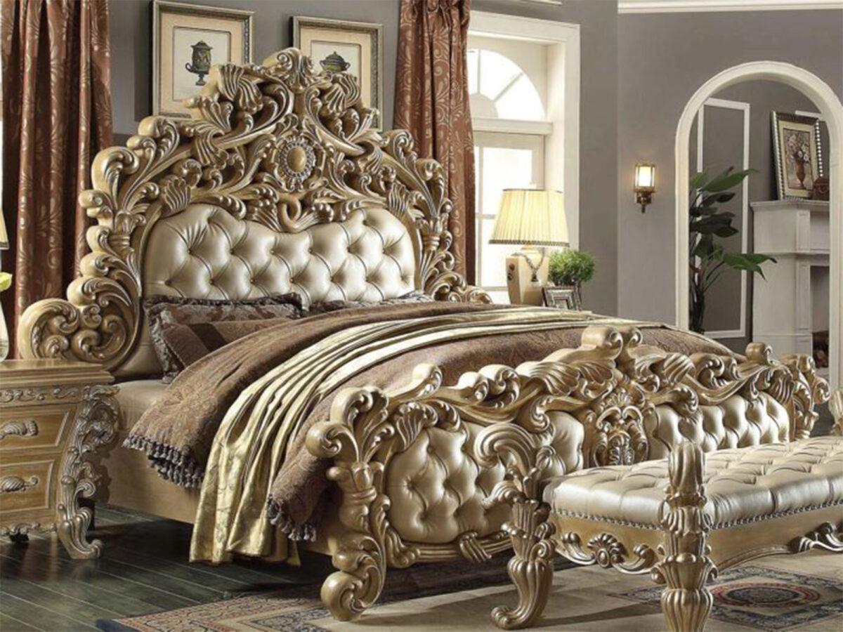 ranjang tempat tidur ukir mewah murah