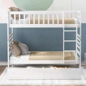 ranjang tidur tingkat minimalis sorong modern