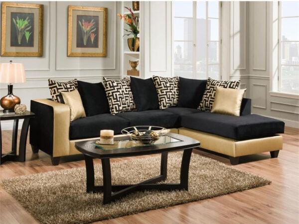 set sofa tamu sudut minimalis modern