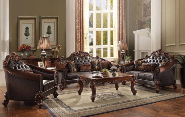sofa kayu jati modern model terbaru