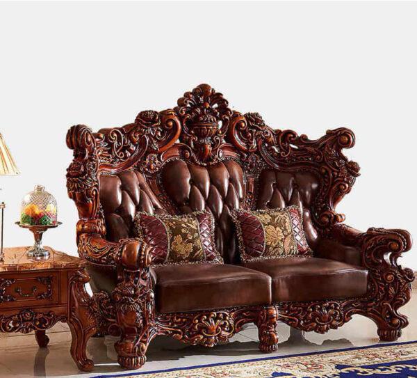 sofa kursi ruang tamu mewah modern jepara