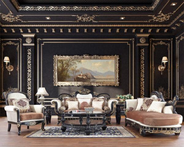 sofa ruang tamu mewah modern